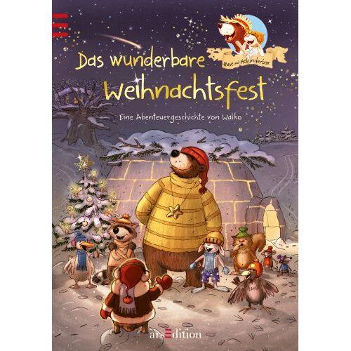 Walko - Hase und Holunderbär - Das wunderbare Weihnachtsfest: Band 8 - Preis vom 03.05.2021 04:57:00 h