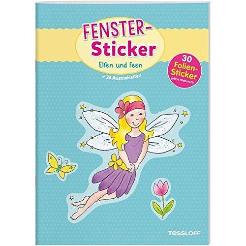 - Fenster-Sticker Elfen und Feen: 24 Ausmalseiten, 30 Folien-Sticker (Malbücher und -blöcke) - Preis vom 03.05.2021 04:57:00 h