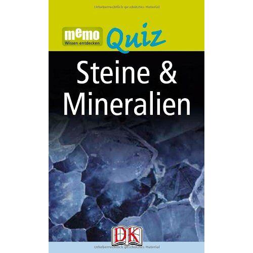 - memo Wissen entdecken Quiz: Steine & Mineralien - Preis vom 15.05.2021 04:43:31 h
