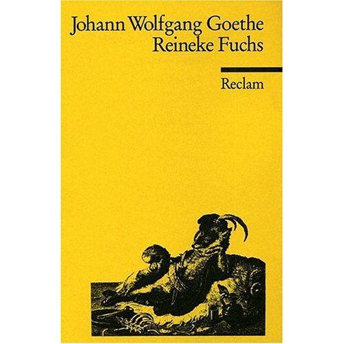 Goethe, Johann W. von - Reineke Fuchs - Preis vom 26.02.2021 06:01:53 h