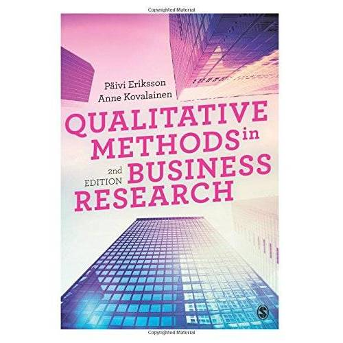 Paivi Eriksson - Qualitative Methods in Business Research (Introducing Qualitative Methods series) - Preis vom 11.05.2021 04:49:30 h
