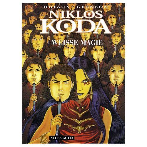 Jean Dufaux - Niklos Koda, Bd.7: Weiße Magie - Preis vom 20.10.2020 04:55:35 h