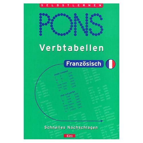 Isabelle Langenbach - PONS Verbtabellen, Französisch - Preis vom 15.04.2021 04:51:42 h