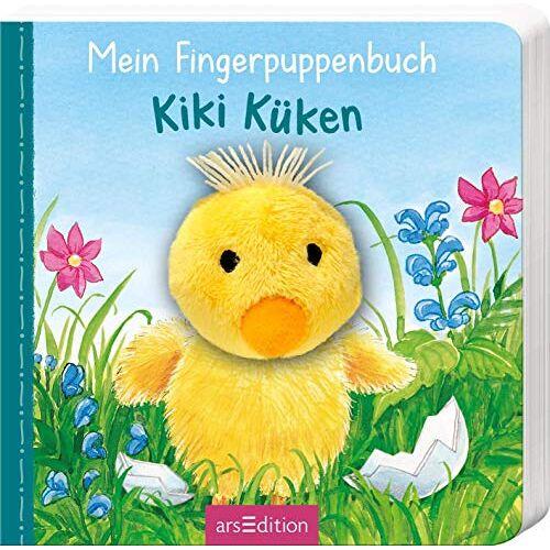 Andrea Gerlich - Mein Fingerpuppenbuch - Kiki Küken (Fingerpuppenbücher) - Preis vom 25.02.2021 06:08:03 h