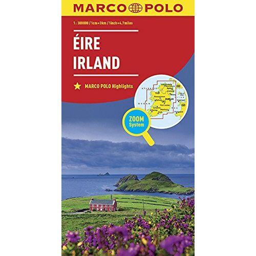 Marco Polo - MARCO POLO Länderkarte Irland 1:300 000 (MARCO POLO Länderkarten) - Preis vom 19.02.2020 05:56:11 h