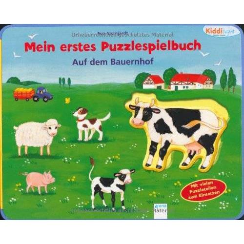 Lisa Golze - Mein erstes Puzzlespielbuch: Auf dem Bauernhof - Preis vom 02.03.2021 06:01:48 h