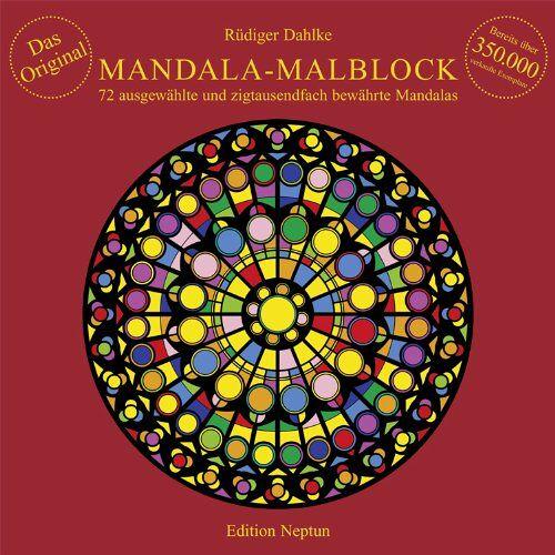 Rüdiger Dahlke - Mandala-Malblock: 72 ausgewählte Mandalas aus Ost und West und aus der Mitte - Preis vom 03.09.2020 04:54:11 h