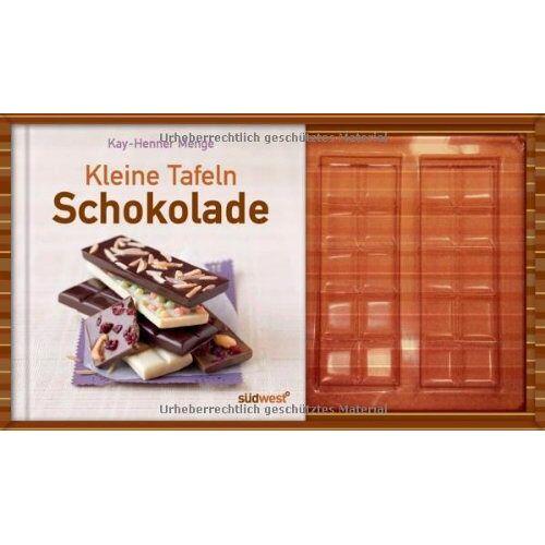 Kay-Henner Menge - Kleine Tafeln Schokolade-Set: Buch mit Gießform - Preis vom 05.09.2020 04:49:05 h