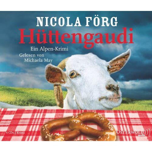 Nicola Förg - Hüttengaudi: 4 CDs - Preis vom 15.10.2020 04:56:03 h