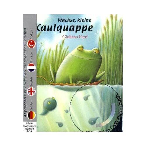 Giuliano Ferri - Wachse, kleine Kaulquappe (Buch mit DVD) - Preis vom 15.05.2021 04:43:31 h