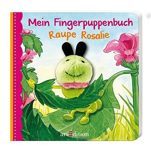 Andrea Gerlich - Mein Fingerpuppenbuch Raupe Rosalie (Fingerpuppenbücher) - Preis vom 17.04.2021 04:51:59 h