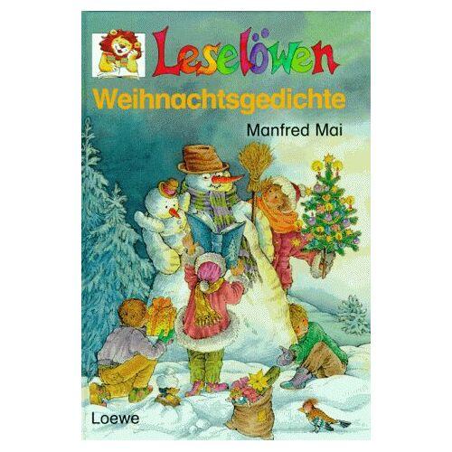 Manfred Mai - Leselöwen Weihnachtsgedichte. ( Ab 7 J.) - Preis vom 14.04.2021 04:53:30 h