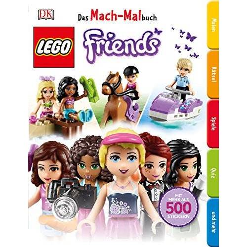 - Das Mach-Malbuch LEGO® FRIENDS - Preis vom 25.01.2020 05:58:48 h