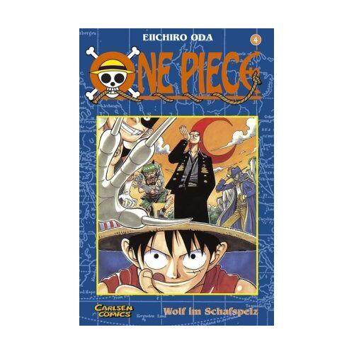 Eiichiro Oda - One Piece, Band 4: Wolf im Schafspelz - Preis vom 06.09.2020 04:54:28 h