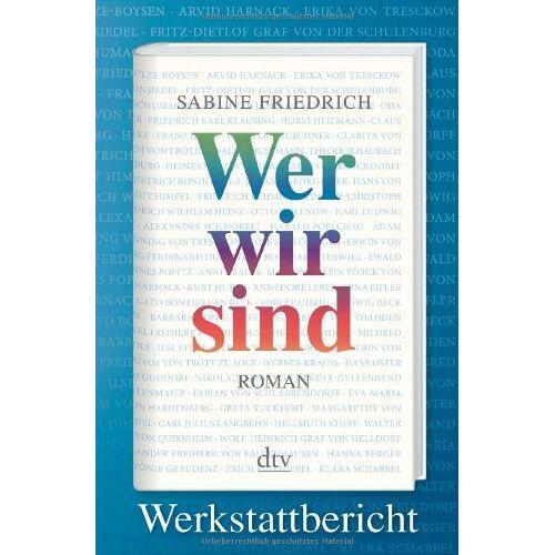 Sabine Friedrich - Wer wir sind. Werkstattbericht - Preis vom 14.04.2021 04:53:30 h