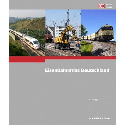 Hans Schweers - Eisenbahnatlas Deutschland - Preis vom 20.01.2021 06:06:08 h