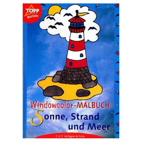 Armin Täubner - Windowcolor-Malbuch, Sonne, Strand und Meer - Preis vom 26.01.2021 06:11:22 h