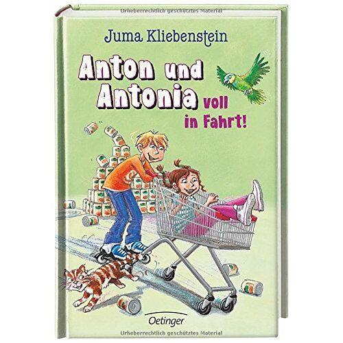 Juma Kliebenstein - Anton und Antonia voll in Fahrt!: Band 2 - Preis vom 21.10.2020 04:49:09 h