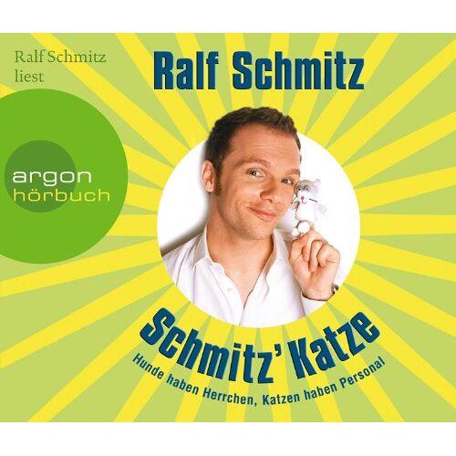 Ralf Schmitz - Schmitz' Katze: Hunde haben Herrchen, Katzen haben Personal (3 CD) - Preis vom 21.10.2020 04:49:09 h