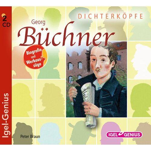 Braun Dichterköpfe - Georg Büchner - Preis vom 03.09.2020 04:54:11 h