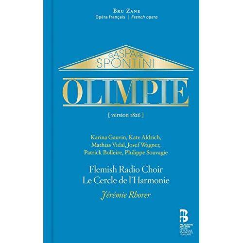 Karina Gauvin - Spontini: Olimpie (2 CD + Buch) - Preis vom 03.05.2021 04:57:00 h