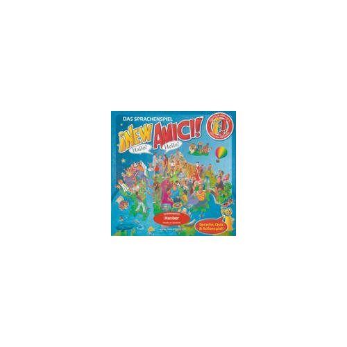 - Das Sprachenspiel ¡NEW AMICI!(TM): Deutsch-Englisch / Sprachenspiel - 525 Karten, 1 Spielbrett, 4 Spielsteine, 1 Würfel, Spielregeln & Mini Atlas - Preis vom 05.09.2020 04:49:05 h
