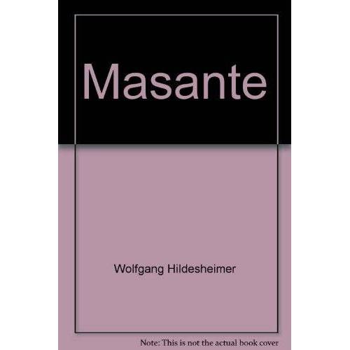 Wolfgang Hildesheimer - Masante - Preis vom 05.03.2021 05:56:49 h
