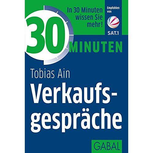 Tobias Ain - 30 Minuten Verkaufsgespräche - Preis vom 07.05.2021 04:52:30 h