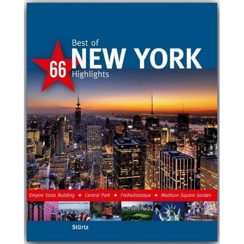Thomas Jeier - Best of NEW YORK - 66 Highlights - Ein Bildband mit über 170 Bildern - STÜRTZ Verlag: Ein Bildband mit über 180 Bildern - Preis vom 12.05.2021 04:50:50 h