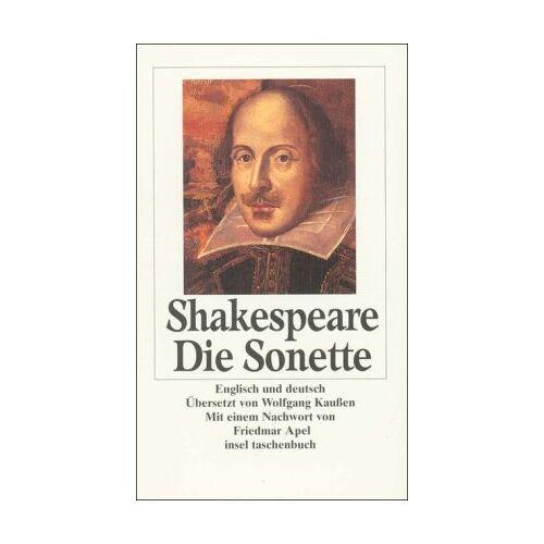 Shakespeare Die Sonette (insel taschenbuch) - Preis vom 08.05.2021 04:52:27 h