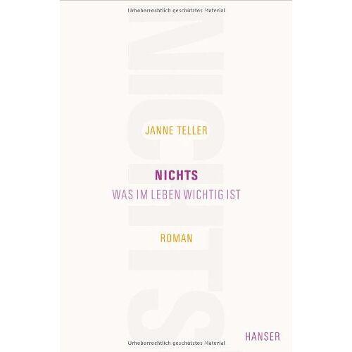 Janne Teller - Nichts: Was im Leben wichtig ist. Roman - Preis vom 10.05.2021 04:48:42 h
