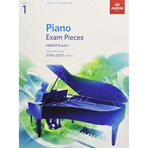 ABRSM - Piano Exam Pieces 2019 & 2020, ABRSM Grade 1: Selected from the 2019 & 2020 syllabus (ABRSM Exam Pieces) - Preis vom 14.01.2021 05:56:14 h