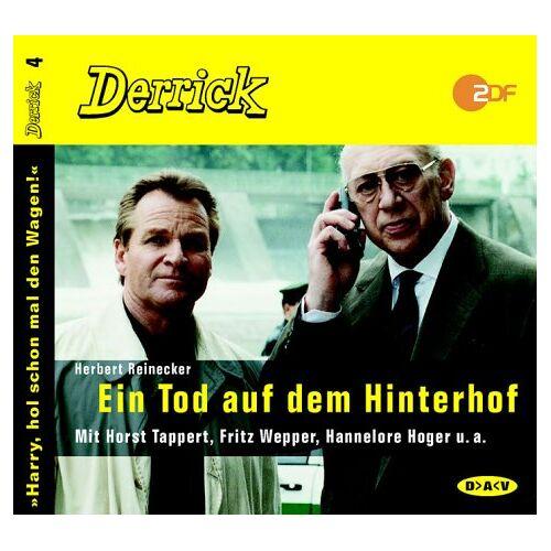Herbert Reinecker - Derrick. Ein Tod auf dem Hinterhof. CD. - Preis vom 14.04.2021 04:53:30 h