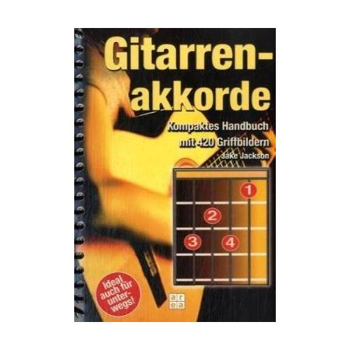 Jackson Gitarrenakkorde: Kompaktes Handbuch mit 420 Griffbildern - Preis vom 20.10.2020 04:55:35 h