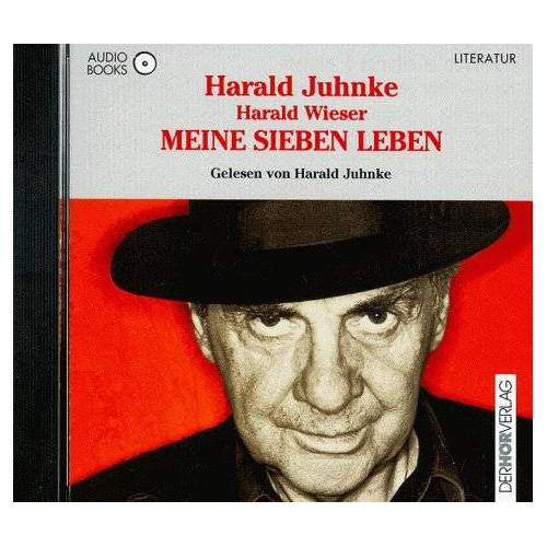 Harald Juhnke - Meine sieben Leben. Audiobook. CD - Preis vom 03.05.2021 04:57:00 h
