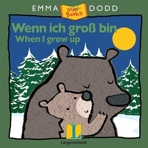 Emma Dodd - Wenn ich groß bin - When I grow up: Mini-Books (Emma Dodd) - Preis vom 21.10.2020 04:49:09 h
