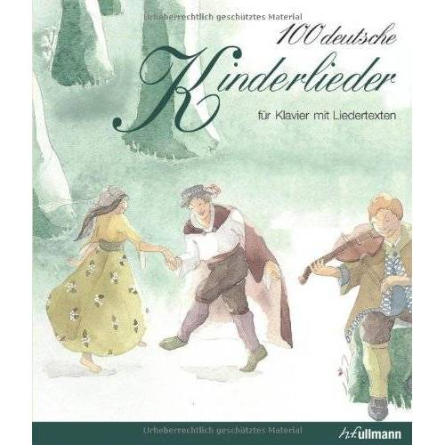 - 100 deutsche Kinderlieder: für Klavier mit Liedertexten - Preis vom 20.10.2020 04:55:35 h