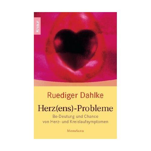 Ruediger Dahlke - Herz(ens)-Probleme: Be-Deutung und Chance von Herz- und Kreislaufsymptomen - Preis vom 09.05.2021 04:52:39 h