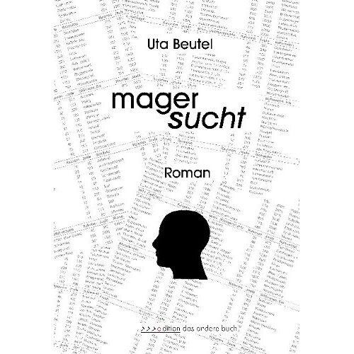 Uta Beutel - Magersucht: Roman - Preis vom 20.10.2020 04:55:35 h