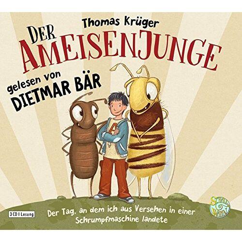 Thomas Krüger - Der Ameisenjunge: Der Tag, an dem ich aus Versehen in einer Schrumpfmaschine landete - - (Der Ameisenjunge - Die Reihe, Band 1) - Preis vom 22.01.2021 05:57:24 h