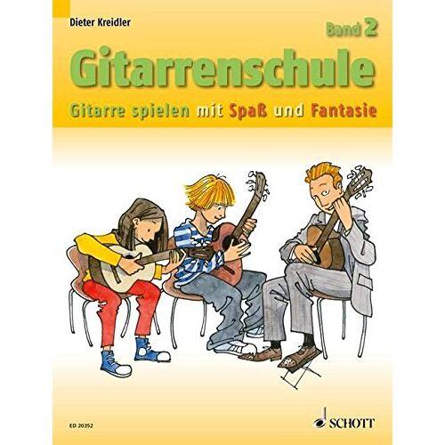 Dieter Kreidler - Gitarrenschule: Gitarre spielen mit Spaß und Fantasie - Neufassung. Band 2. Gitarre. (Kreidler Gitarrenschule) - Preis vom 25.02.2020 06:03:23 h