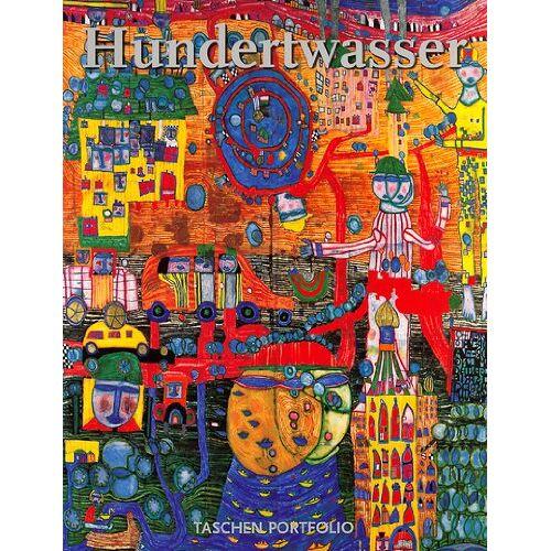 Friedensreich Hundertwasser - Hundertwasser. Portfolio (Portfolio (Taschen)) - Preis vom 10.05.2021 04:48:42 h