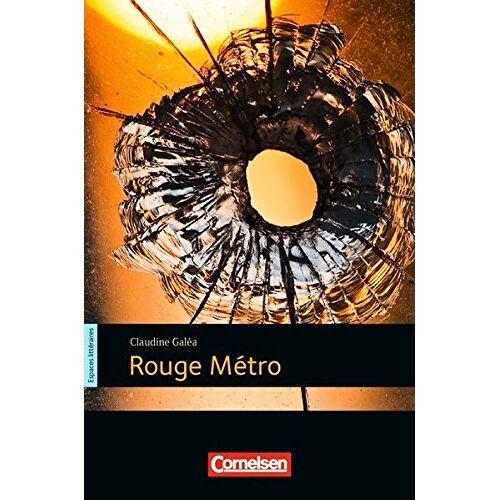 Claudine Galéa - Espaces littéraires: B1 - Rouge métro: Lektüre - Preis vom 09.05.2021 04:52:39 h