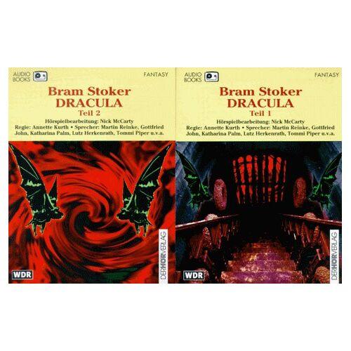 Bram Stoker - Dracula 1/2. Audiobook. 3 Cassetten - Preis vom 27.02.2021 06:04:24 h