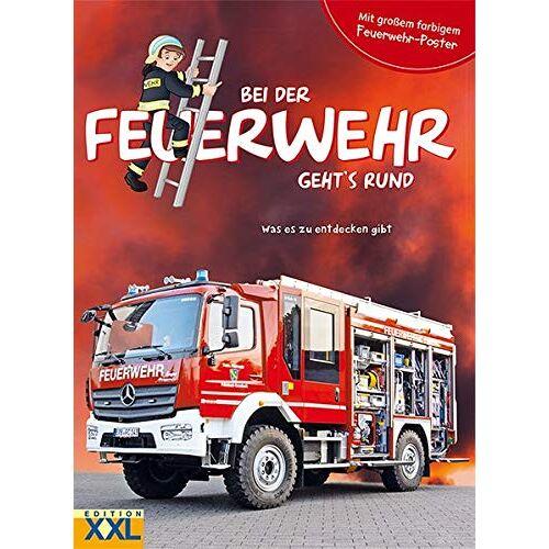 - Bei der Feuerwehr geht's rund - mit großem farbigem Feuerwehr-Poster: Was es zu entdecken gibt - Preis vom 20.10.2020 04:55:35 h