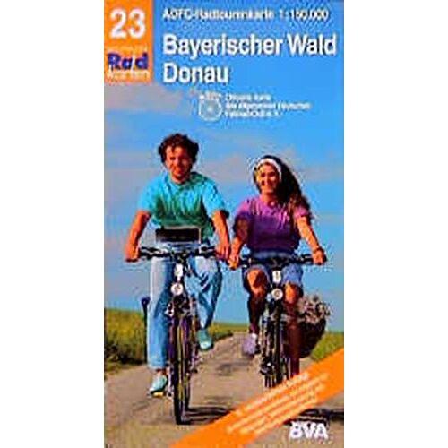 ADFC 23 RADTOURENKARTE - Radtourenkarten 1:150000 (ADFC): ADFC Radtourenkarten, Bayerischer Wald, Donau - Preis vom 20.10.2020 04:55:35 h