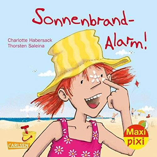 Charlotte Habersack - Sonnenbrandalarm! (Maxi Pixi, Band 208) - Preis vom 17.04.2021 04:51:59 h