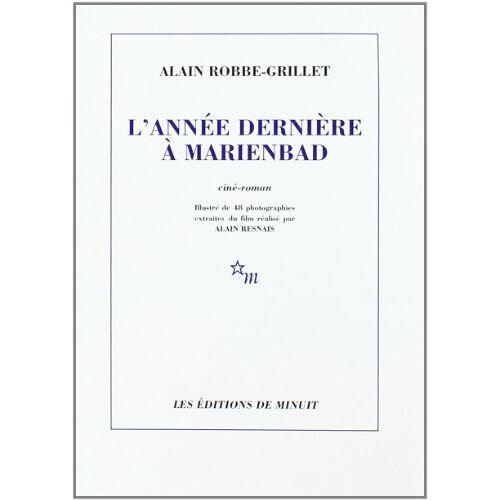 Robbe-Grillet - L'Annee Derniere a Marienbad (Romans) - Preis vom 11.05.2021 04:49:30 h
