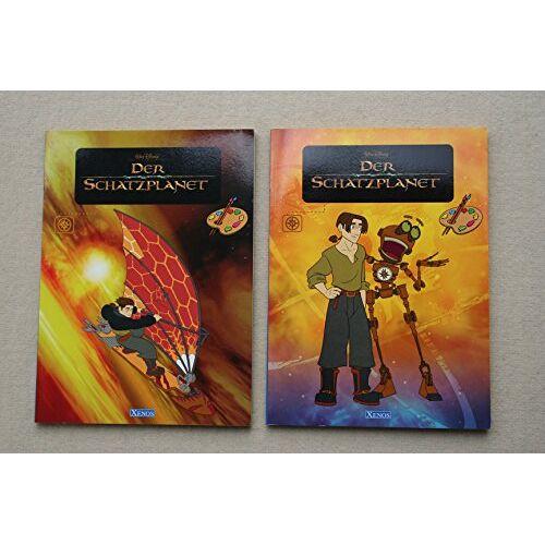 Disney Der Schatzplanet - Xenos-Malbuch - Preis vom 07.05.2021 04:52:30 h