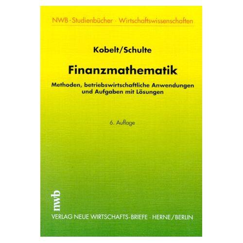 Helmut Kobelt - Finanzmathematik - Preis vom 04.09.2020 04:54:27 h